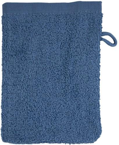 T1-WASH Washcloth - Denim faded  - 16 x 21 cm