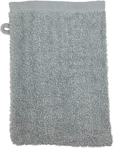 T1-WASH Washcloth - Light grey - 16 x 21 cm