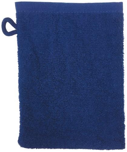 T1-WASH Washcloth - Navy blue - 16 x 21 cm