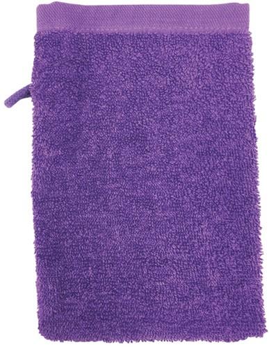 T1-WASH Washcloth - Purple - 16 x 21 cm