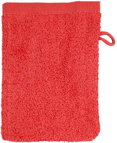 T1-WASH Washcloth - Red - 16 x 21 cm