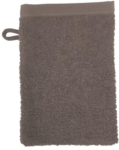 T1-WASH Washcloth - Taupe - 16 x 21 cm