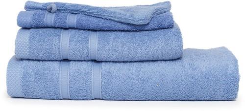 T1-BAMBOO30 Bamboo guest towel - Aqua azure - 30 x 50 cm