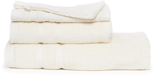 T1-BAMBOO30 Bamboo guest towel - Ivory cream - 30 x 50 cm
