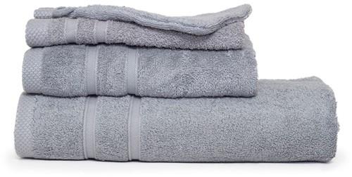 T1-BAMBOO30 Bamboo guest towel - Light grey - 30 x 50 cm
