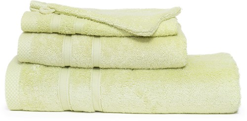 T1-BAMBOO30 Bamboo guest towel - Light olive - 30 x 50 cm