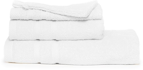 T1-BAMBOO30 Bamboo guest towel - White - 30 x 50 cm