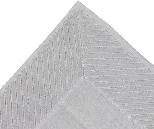 T1-BATHULTRA Bathmat ultra - Silver grey - 60 x 95 cm