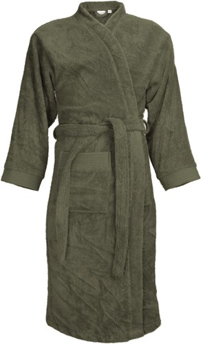 T1-B Bathrobe - Olive green - L/XL