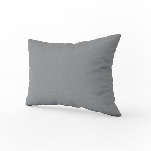 Kussensloop - Dark grey - 60 x 70 cm