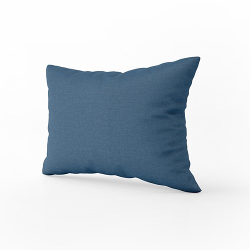 Kussensloop - Indigo blue - 60 x 70 cm