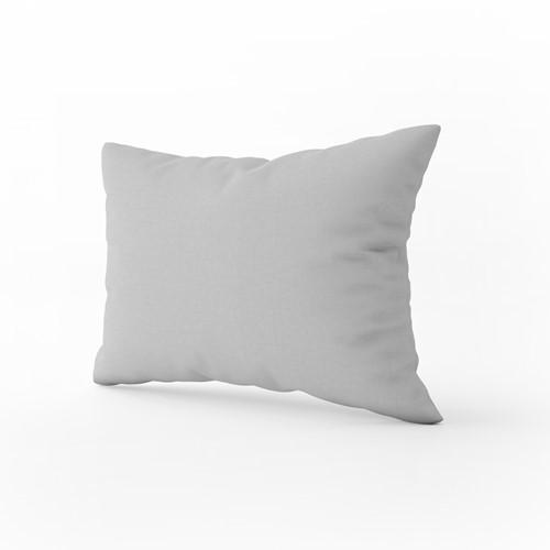 Kussensloop - Light grey - 60 x 70 cm